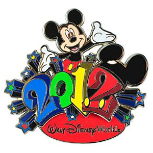 2012 Walt Disney World Mickey Mouse Pin