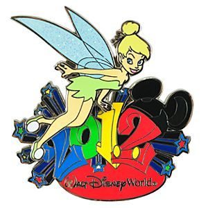 2012 Walt Disney World Tinker Bell Pin