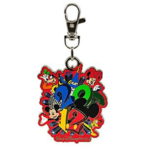 2012 Walt Disney World Mickey Mouse and Friends Lanyard Medal