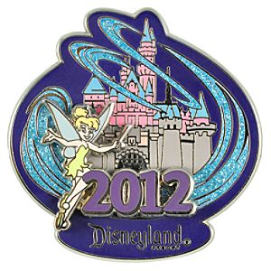 2012 Where Magic Lives Disneyland Tinker Bell Pin