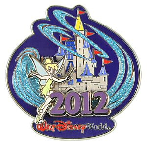 2012 Where Magic Lives Walt Disney World Tinker Bell Pin