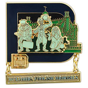 Classic D Collection -- The Haunted Mansion Pin