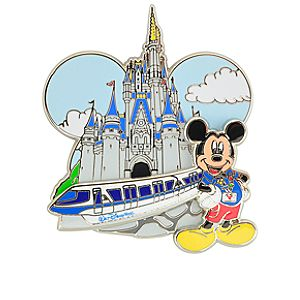Walt Disney World Monorail Mickey Mouse Pin