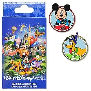 Storybook Walt Disney World Mystery Pin Set -- 2-Pc.