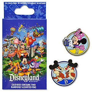 Storybook Disneyland Mystery Pin Set -- 2-Pc.