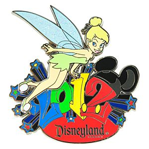 2012 Disneyland Resort Tinker Bell Pin