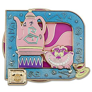 Classic D Collection -- Cheshire Cat Pin