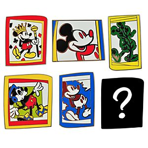 Art Gallery Mickey Mouse Mystery Pin Set -- 6-Pc.