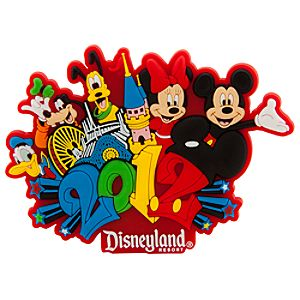 2012 Disneyland Mickey Mouse Magnet