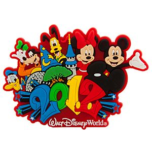 2012 Walt Disney World Mickey Mouse Magnet