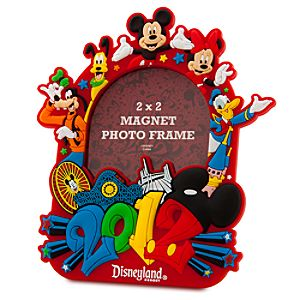 2012 Disneyland Mickey Mouse Magnet Photo Frame -- 2 x 2