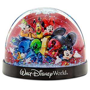 2012 Walt Disney World Snowglobe