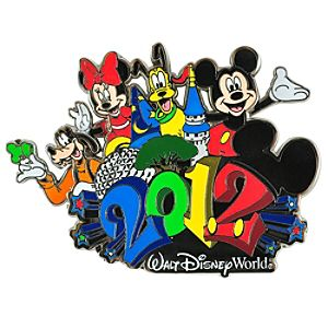 2012 Walt Disney World Mickey Mouse and Friends Pin