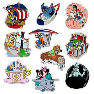 Disney Parks Mystery Pin Set -- 2-Pc.