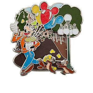 Goofy with Chip n Dale Pin