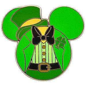 St Patricks Day Chip an Dale Pin