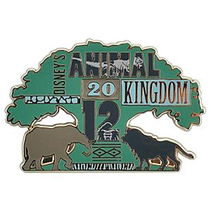 2012 Disneys Animal Kingdom Pin