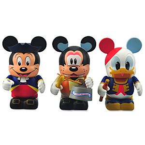 Online Exclusive Vinylmation Park 7 Series 3 Set: America on Parade -- 3-Pc.
