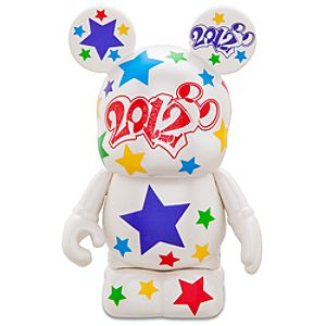 Vinylmation 2012 Disney Parks Figure -- White -- 3