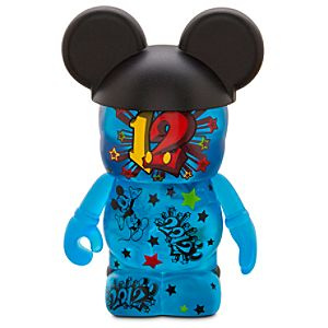 Vinylmation 2012 Disney Parks Figure -- Blue -- 3
