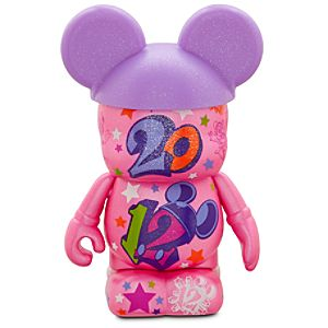 Vinylmation 2012 Disney Parks Figure -- Pink -- 3''