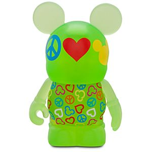 Vinylmation Theme Park Favorites Series 3 Figure -- Peace, Love and Mickey Mouse