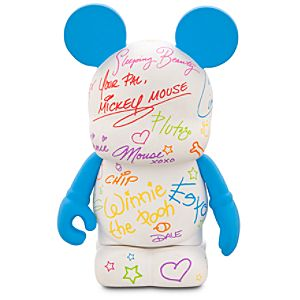 Vinylmation Theme Park Favorites Series 3 Figure -- Autograph Book