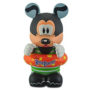 40th Anniversary Walt Disney World Vinylmation Parks 7 Series 9 Figure -- River Country Goofy