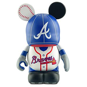 Vinylmation Major League Baseball Atlanta Braves Figure -- 3