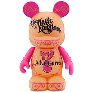 Vinylmation Park 7 Series 9 Figure -- Magic Kingdom Ticket Book