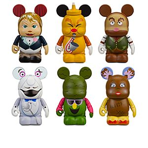 Vinylmation Walt Disney World 40th Anniversary Park 7 Series Kitchen Kabaret 3 Figure Set -- 6-Pc.