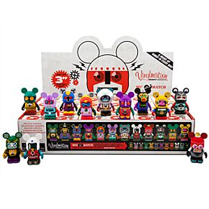 Vinylmation Robots 2 Series Tray -- 24-Pc.