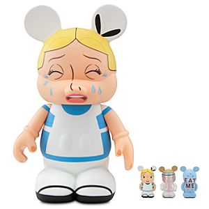 Vinylmation Alice in Wonderland Alice Figure -- 9 with 1 1/2 Alice, Eat Me, Drink Me Treats