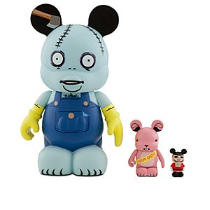 Vinylmation The Nightmare Before Christmas Behemoth Figure -- 9 with 3 Easter Bunny and 1 1/2 Nutcracker