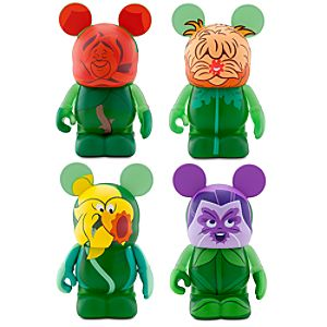 Vinylmation Alice in Wonderland Flower Figures Set -- 3 -- 4-Pc.
