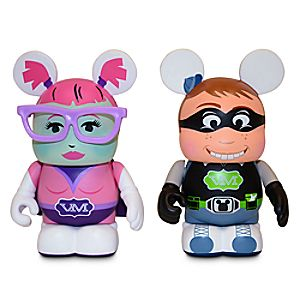 Vinylmation Urban Series Comic Con Boy and Girl - 3""