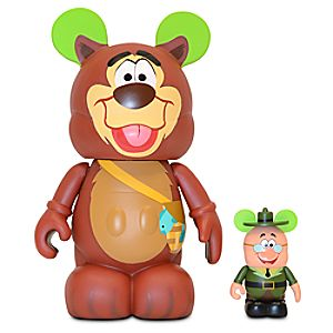 Vinylmation Animation 2 Series 9 Figure -- Humphrey Bear with 3 Ranger Woodlore