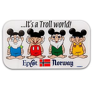 Epcot World Showcase Norway Pavilion Its a Troll World Magnet