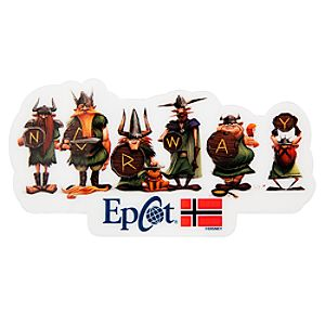 Epcot World Showcase Norway Pavilion Viking Magnet