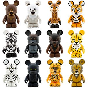 Vinylmation The Animal Kingdom Series 1 Figures -- 3 -- Tray of 24-Pc.