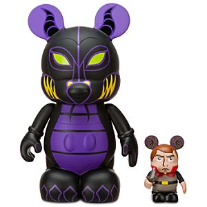 Vinylmation Animation 2 Series 9 Figure -- Maleficent with 3 Prince Phillip Figure