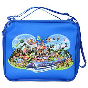 Storybook Disneyland Pin Trading Bag