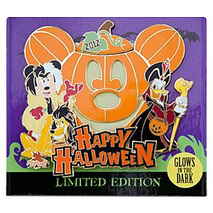 Limited Edition 2012 Halloween Time Mickey Mouse Pin
