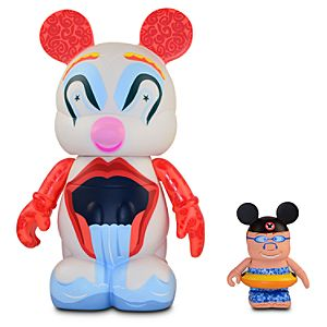 Vinylmation Park 9 Series BoardWalk Clown with Mouseketeer - 9 & 3