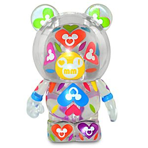 Vinylmation I Love Mickey Series 3 Figure: Clear