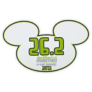 2013 Walt Disney World Marathon Auto Magnet