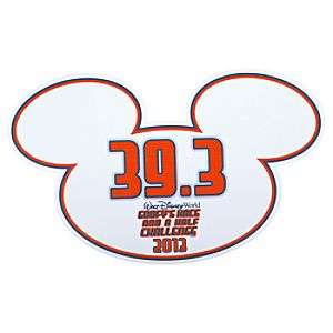 2013 Goofys Race and a Half Challenge Walt Disney World Auto Magnet