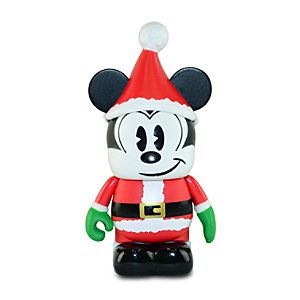 Vinylmation Santa Mickey Mouse 3'' Figure