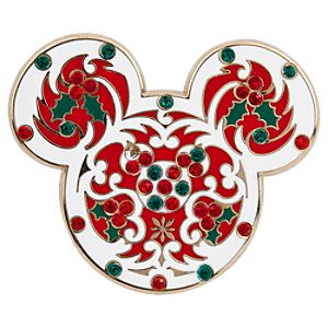 Mickey Mouse Icon Pin - Holiday