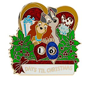Lady and the Tramp Pin - Christmas Countdown 2012